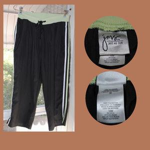 JUST MY SIZE JMS Capri Workout Pants Sz 16W